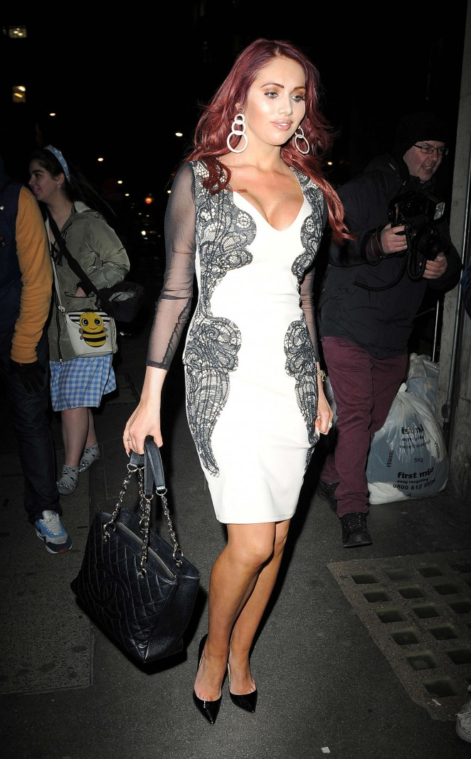 Amy Childs – The Sun: Bizarre Party in London