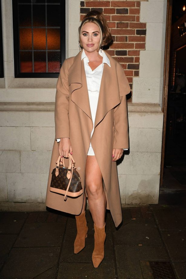 Amy Childs - TOWiE filming in Essex