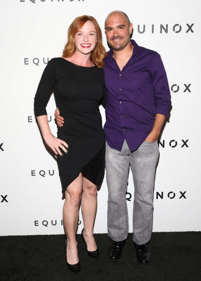 Amy Dixon - Equinox Hollywood Body Spectacle Event in LA