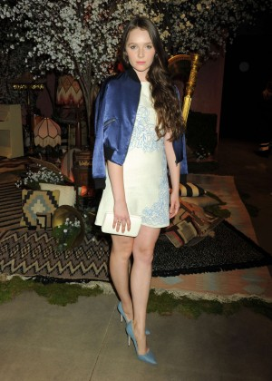 Amy Forsyth - Alice + Olivia Fashion Show 2016 in Los Angeles