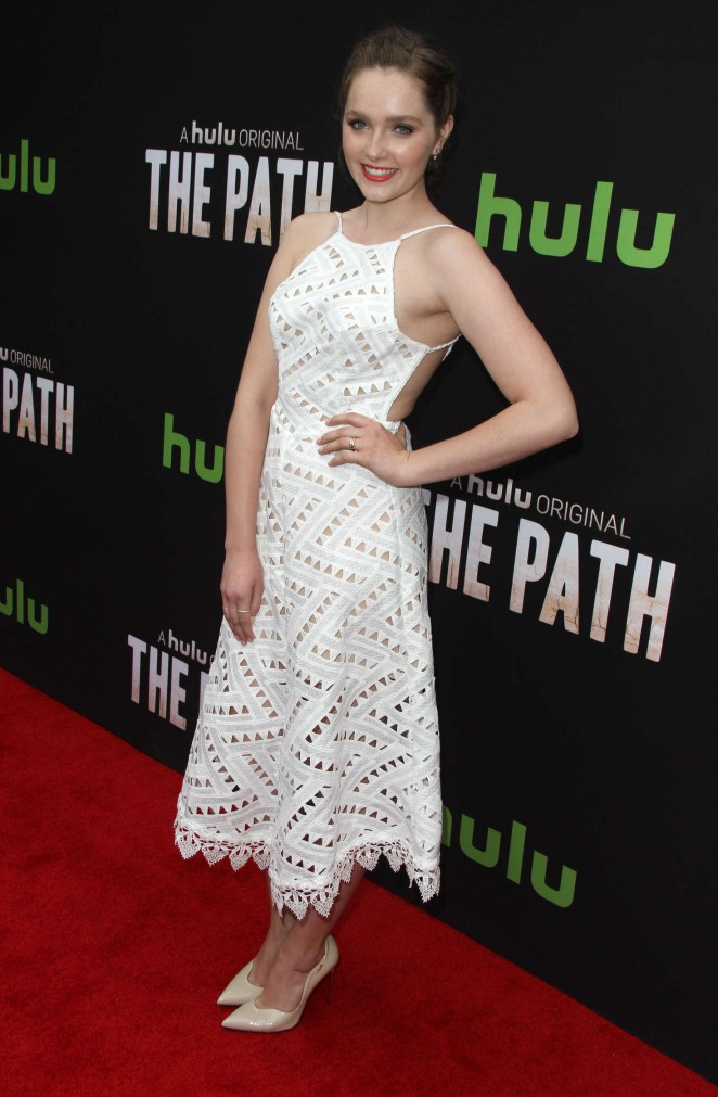 Amy Forsyth - 'The Path' Premiere in Hollywood