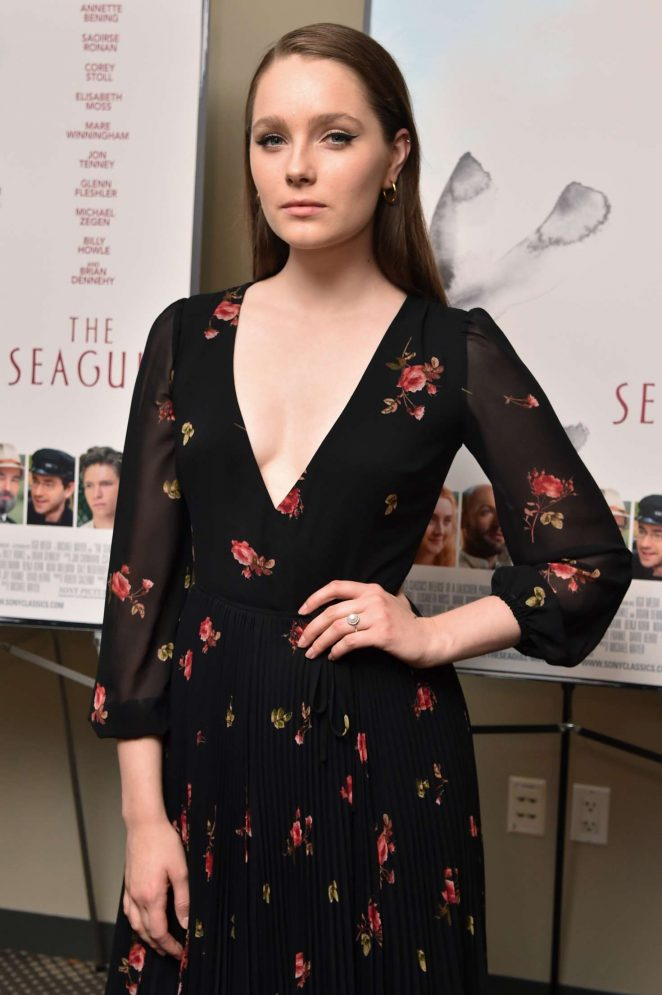Amy Forsyth - 'The Seagull' Premiere in New York