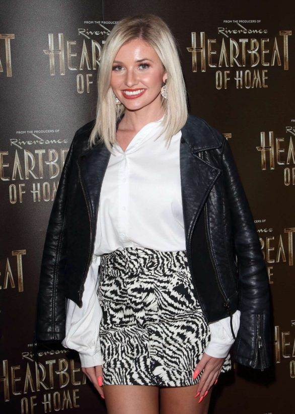 Amy Hart - Heartbeat of Home Press Night in London