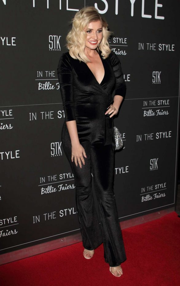 Amy Hart - In The Style x Billie Faiers Launch Event in London