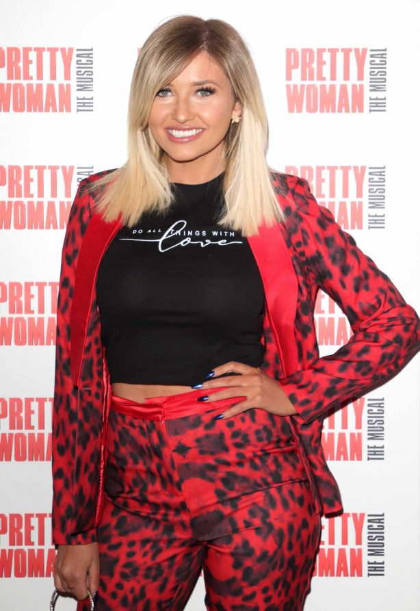 Amy Hart - Press Night for Pretty Woman: The Musical in London