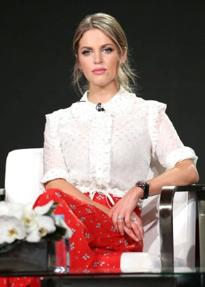 Amy Huberman - Acorn TV 'Striking Out' TV Show Panel in LA