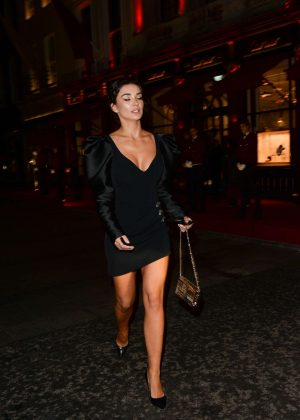 Amy Jackson - Leaving Cartier Launch Party in London