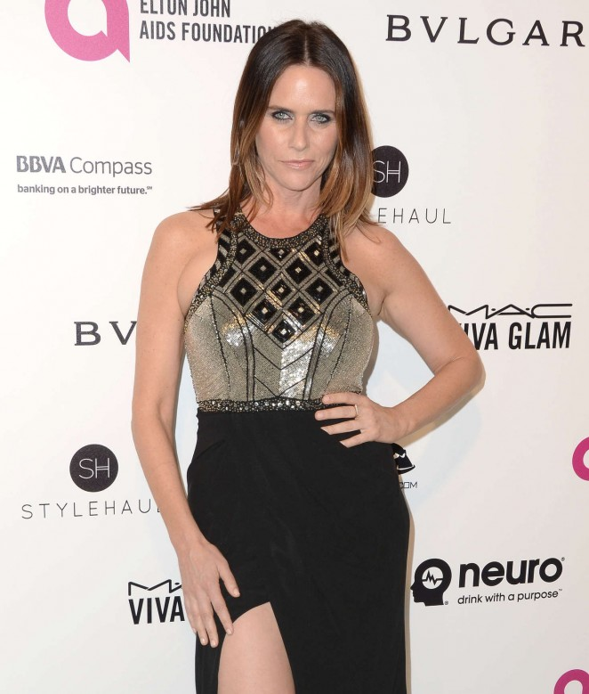 Amy Landecker - 2016 Elton John AIDS Foundation's Oscar Viewing Party in West Hollywood
