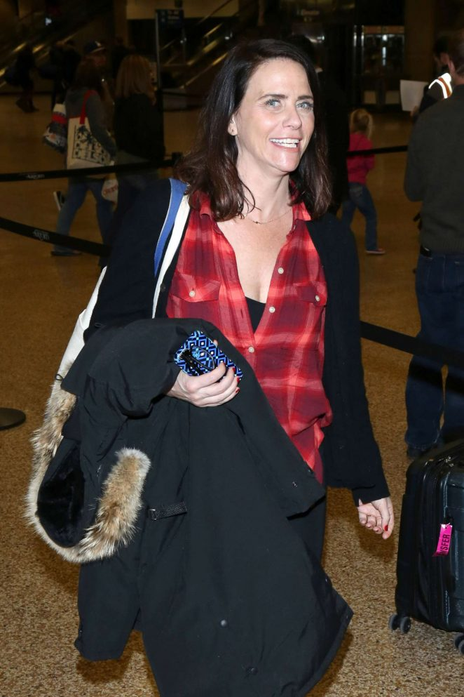 Amy Landecker - Arriving at Salt Lake City Airport