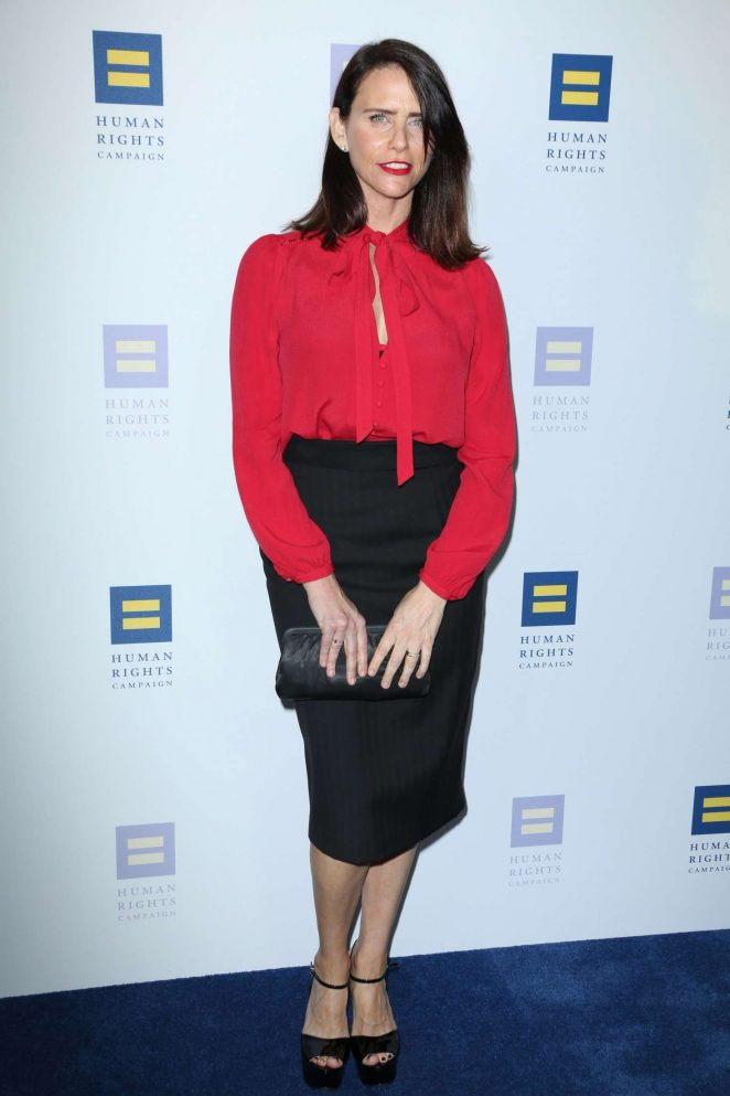 Amy Landecker - Human Rights Campaign Gala Dinner 2017 in Los Angeles