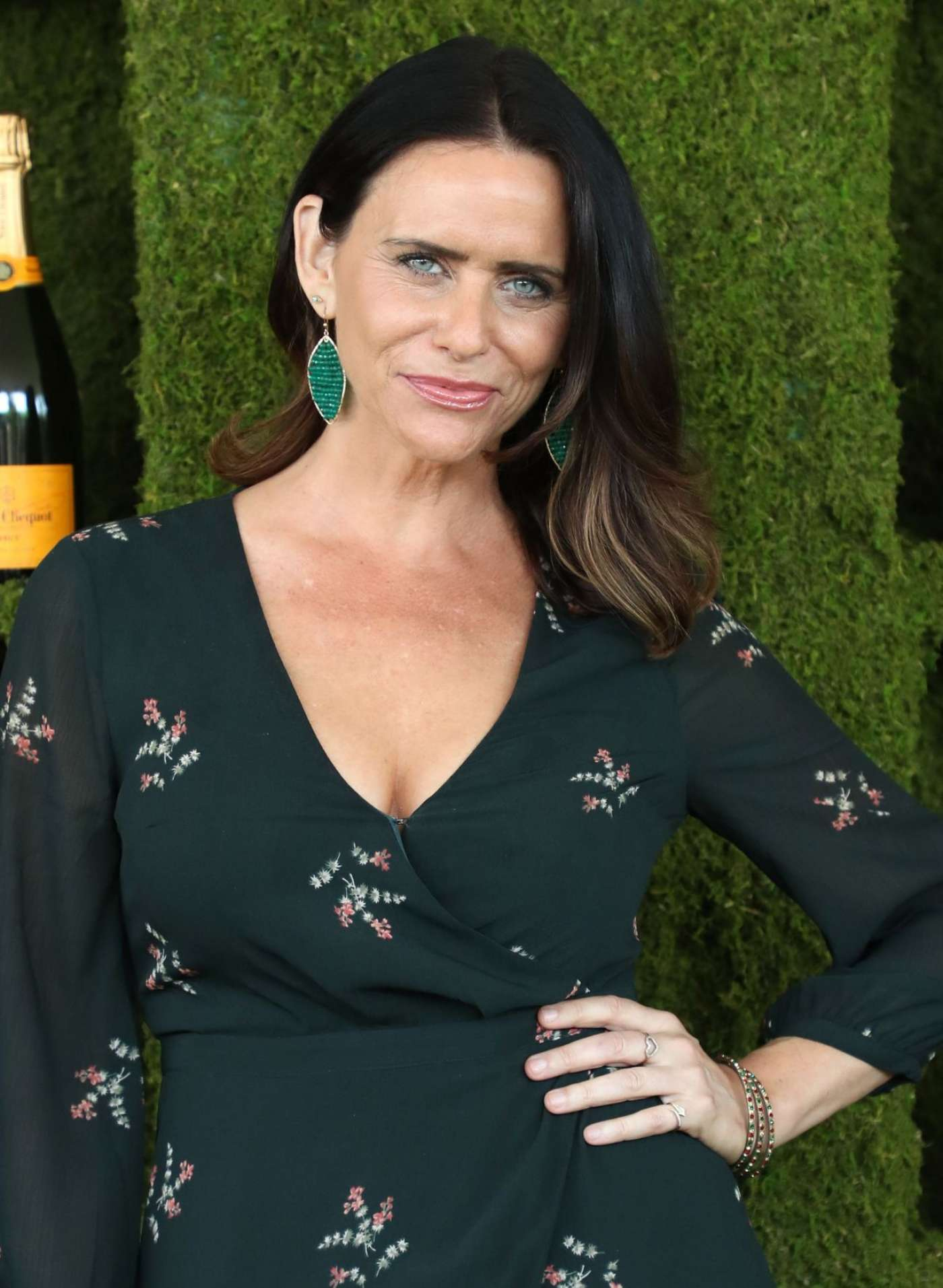 Amy Landecker  - Veuve Cliquot Polo Classic in LA