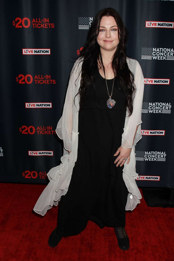 Amy Lee - Live Nation Launches National Concert Week in New York
