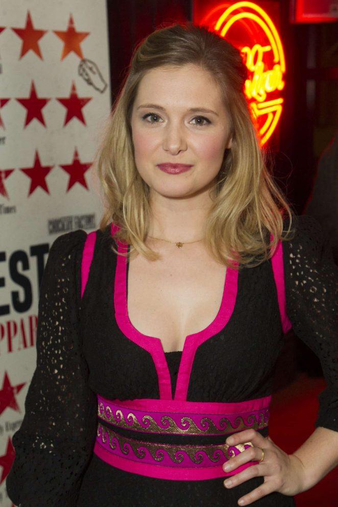 Amy Morgan - 'Travesties' Play Press Night in London