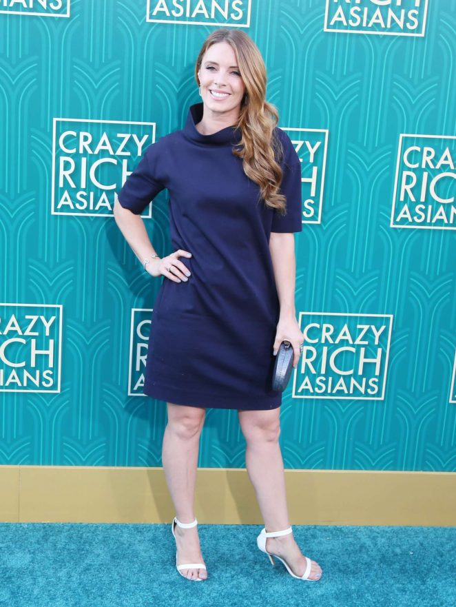 Amy Pemberton - 'Crazy Rich Asians' Premiere in Los Angeles