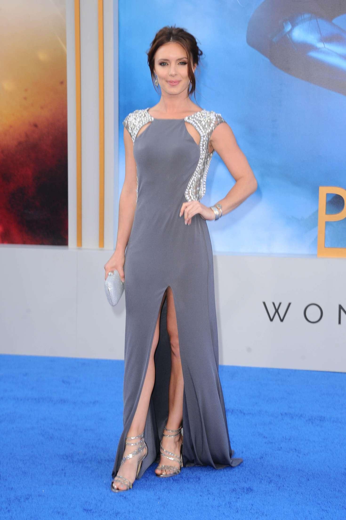 Amy Pemberton Wonder Woman Premiere In Los Angeles