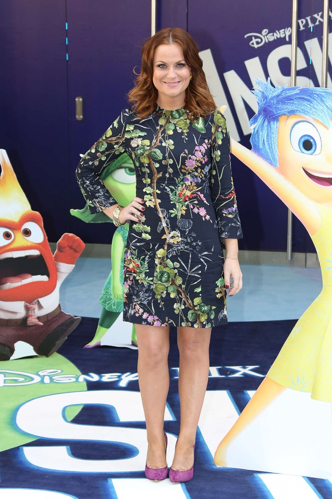 Amy Poehler - 'Inside Out' Premiere in London