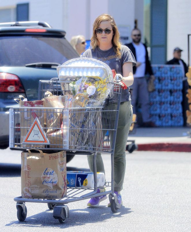 Amy Poehler: Shopping in Beverly Hills -06