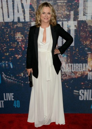 Amy Poehler - SNL 2015 Anniversary Special in NY