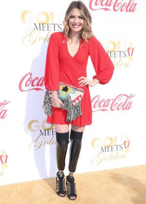 Amy Purdy - 5th Annual Gold Meets Golden in Los Angeles