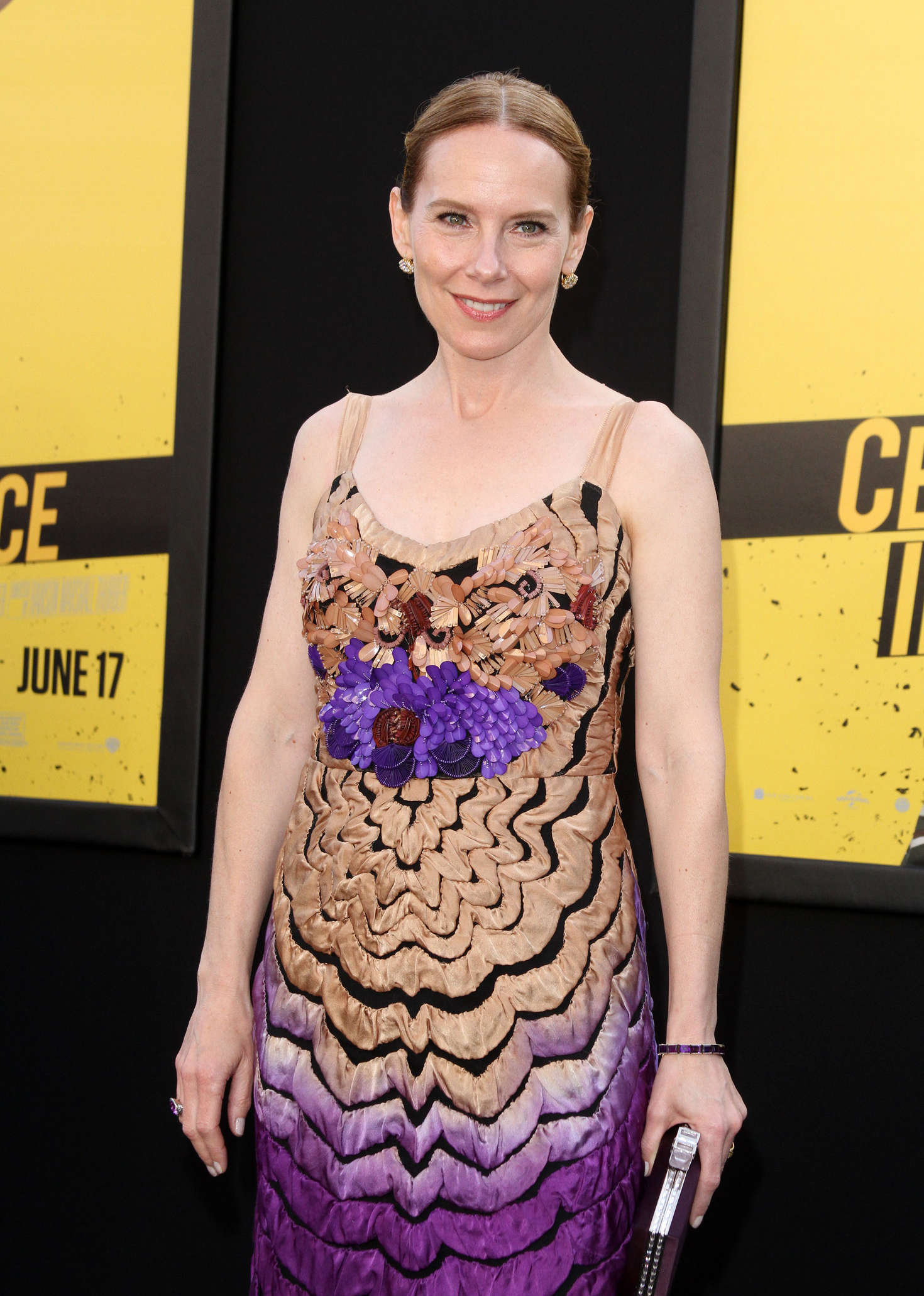 Amy Ryan – 'Central Intelligence' Premiere in Los Angeles ...