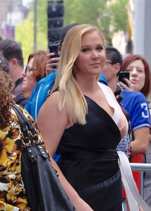 Amy Schumer at AOL Build in New York