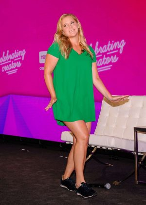 Amy Schumer - BlogHer18 Creators Summit in New York