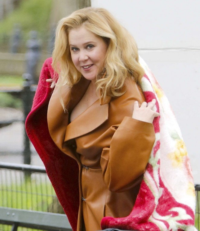 Amy Schumer by Annie Leibovitz Photoshoot in New York
