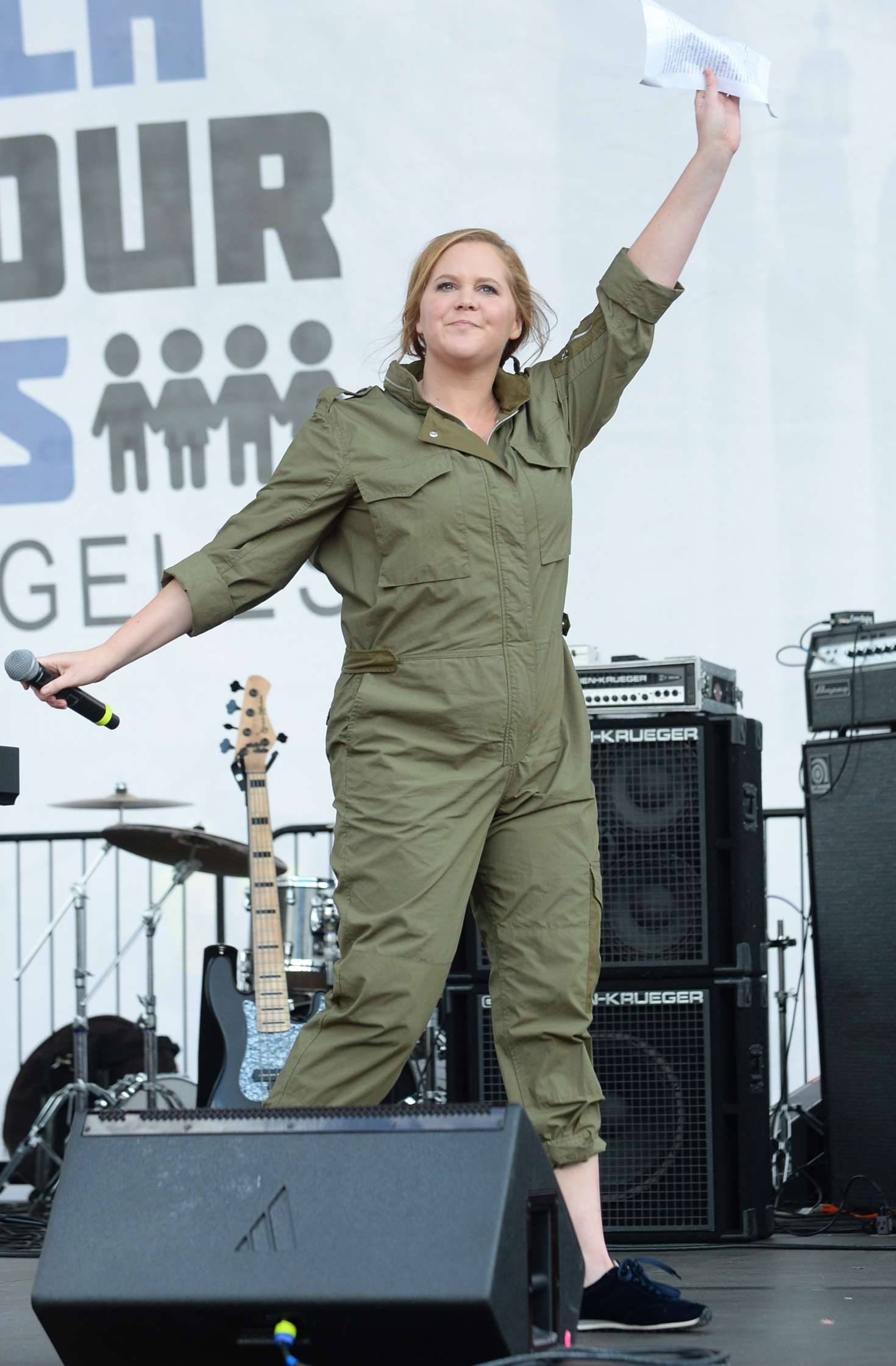 Amy Schumer 2018 : Amy Schumer: March at the anti-gun March For Our Lives -02