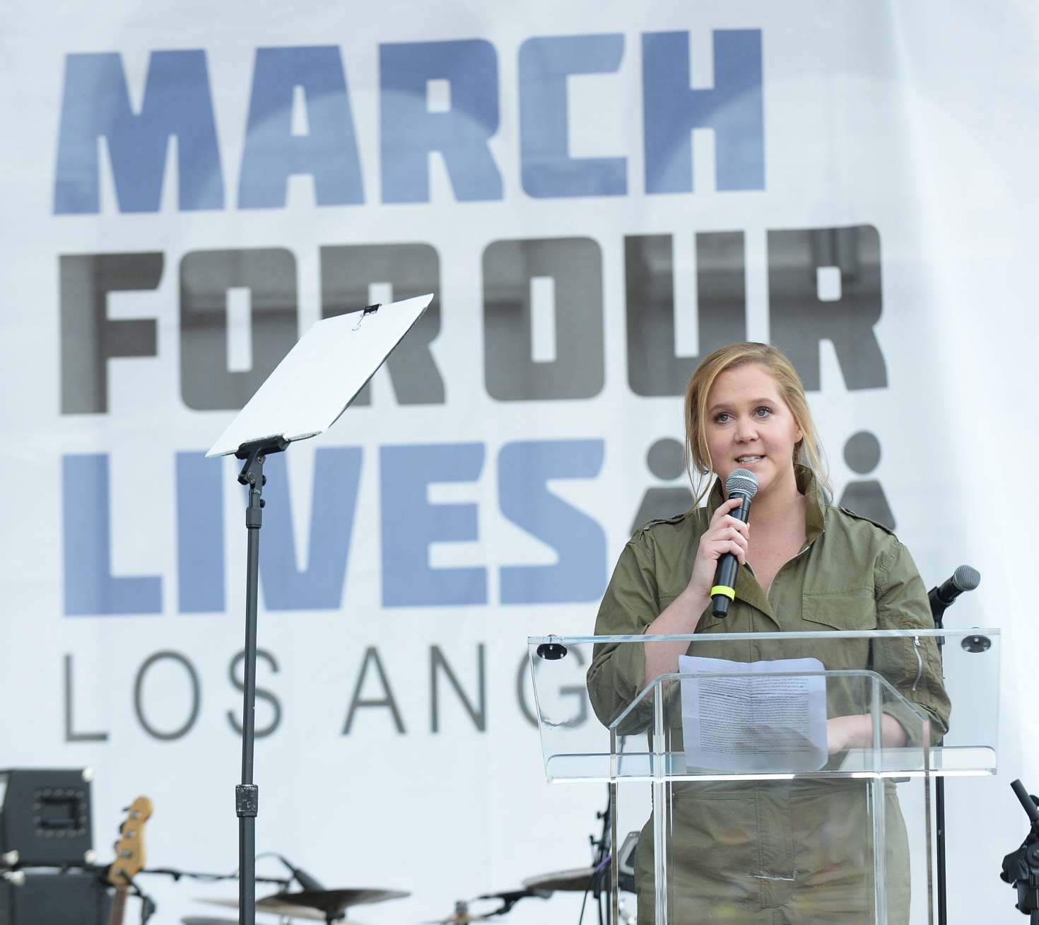 Amy Schumer 2018 : Amy Schumer: March at the anti-gun March For Our Lives -04