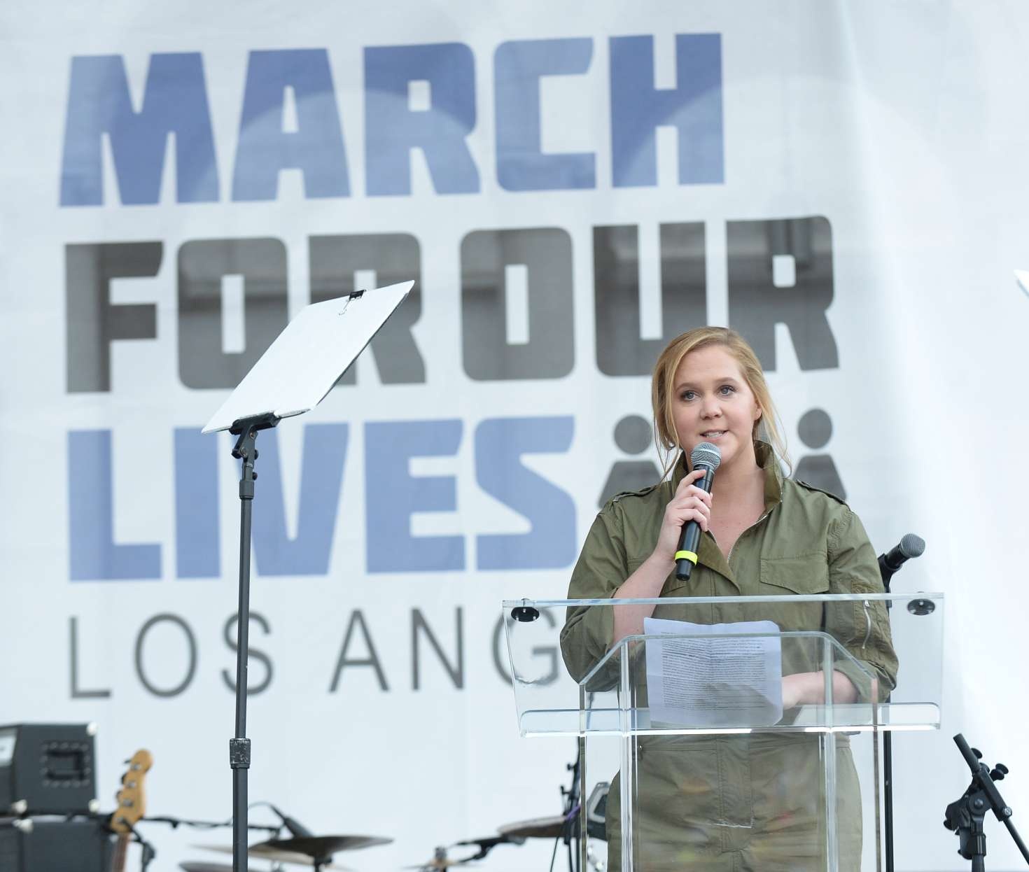 Amy Schumer 2018 : Amy Schumer: March at the anti-gun March For Our Lives -05