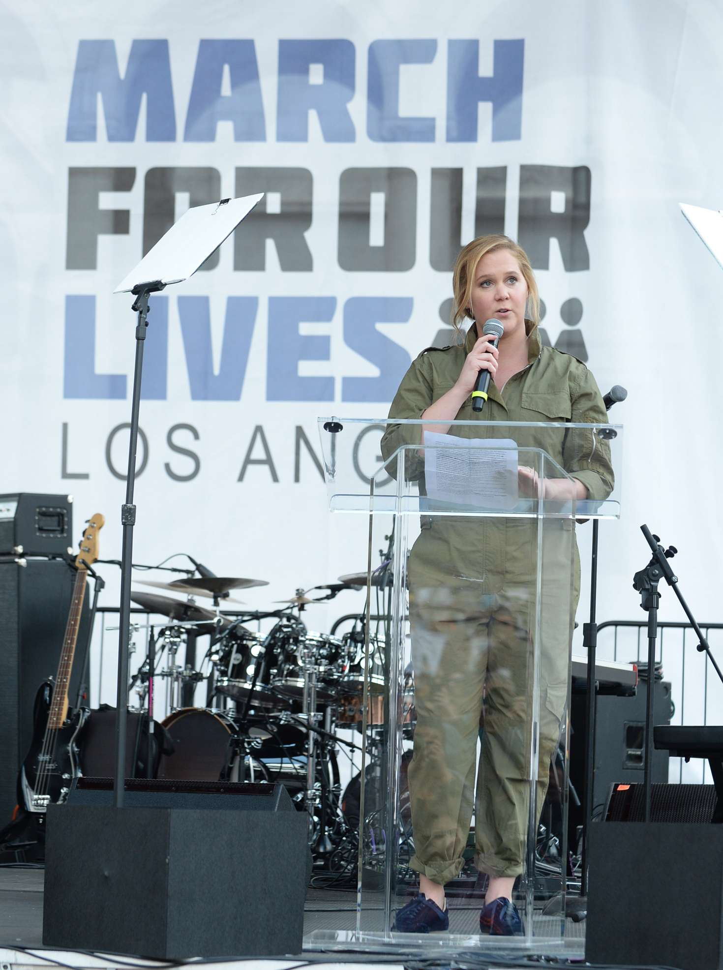 Amy Schumer 2018 : Amy Schumer: March at the anti-gun March For Our Lives -08