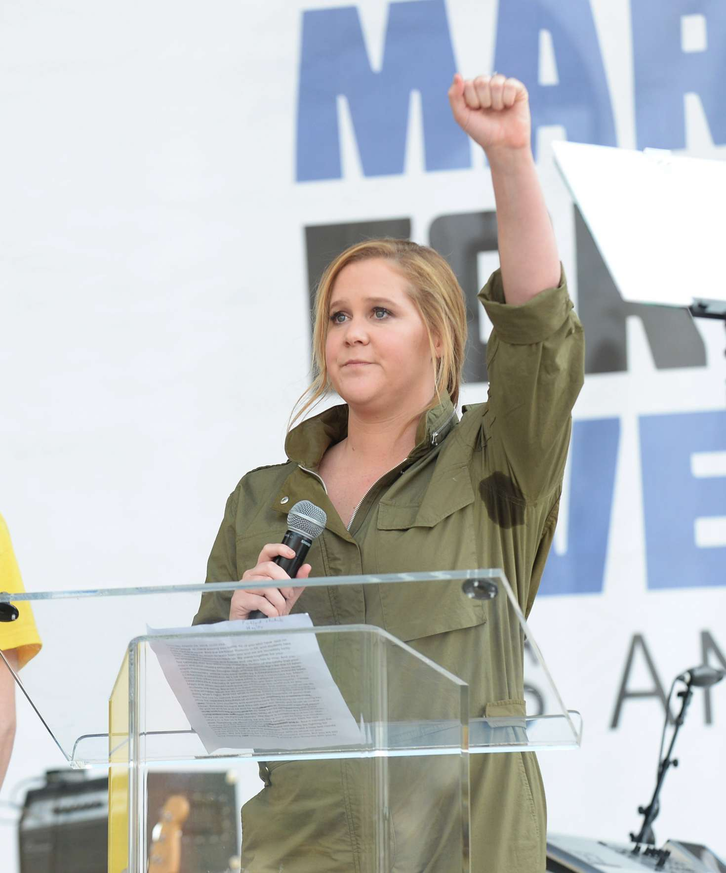 Amy Schumer 2018 : Amy Schumer: March at the anti-gun March For Our Lives -10