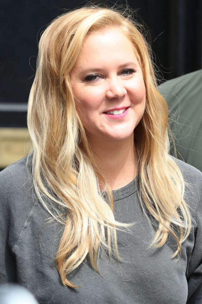 Amy Schumer out and about in London