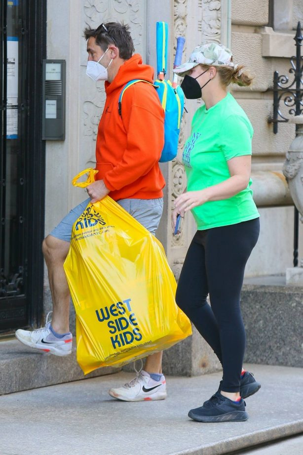 Amy Schumer - Out with Chris Fischer in New York