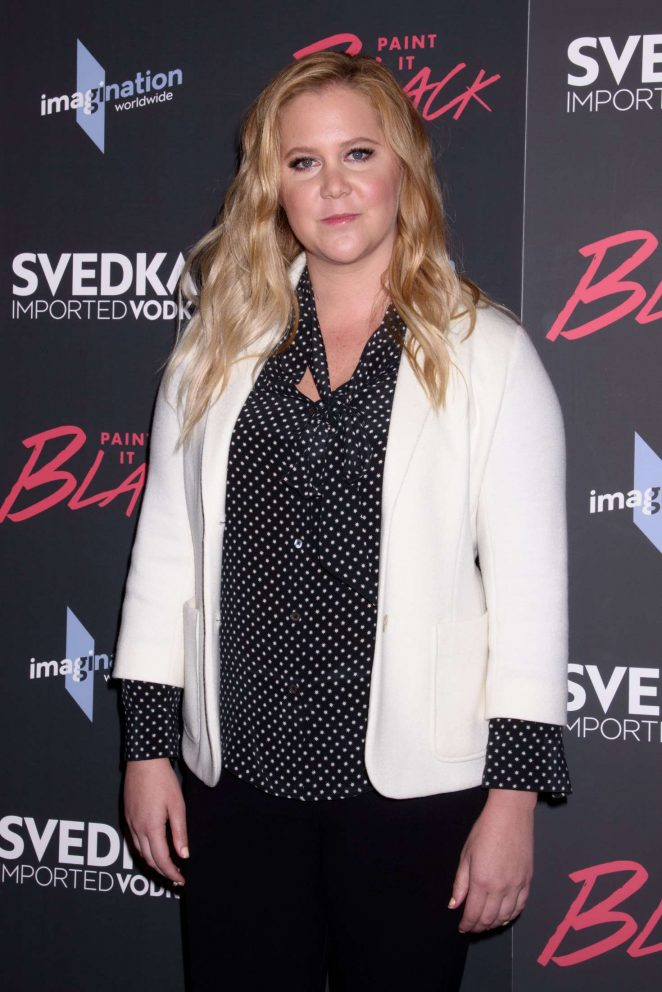 Amy Schumer - 'Paint it Black' Screening in New York