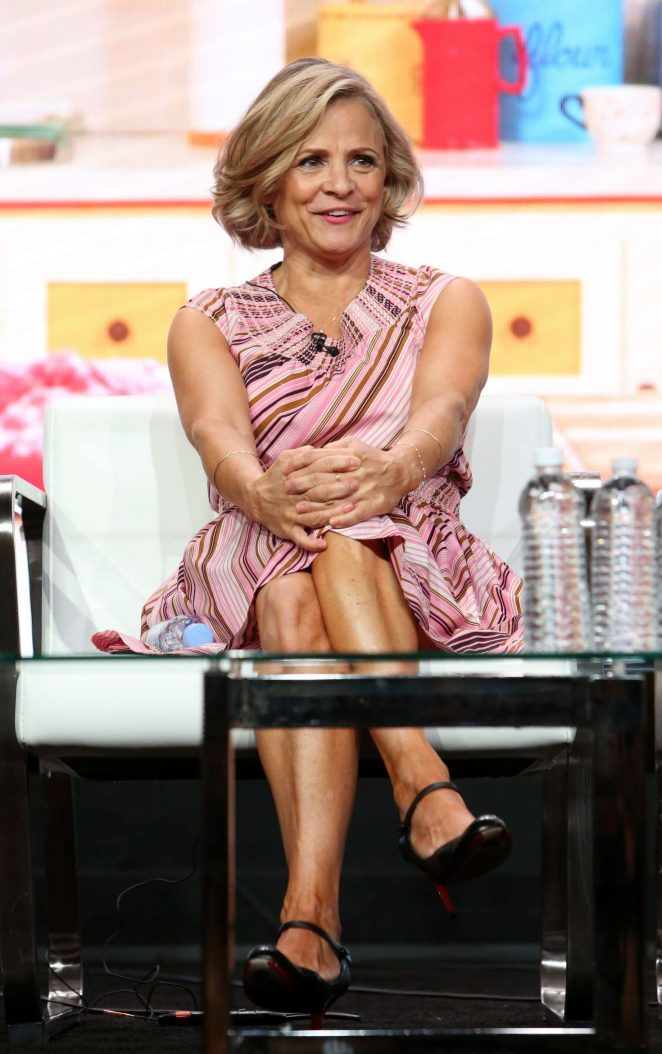 Amy Sedaris - At Home with Amy Sedaris' TV Show Panel at 2017 TCA Summer Press Tour in LA