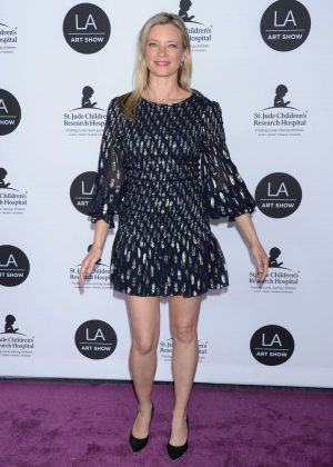 Amy Smart - LA Art Show Opening Night Gala in Los Angeles