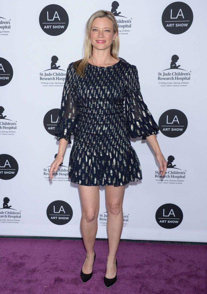 Amy Smart - LA Art Show Opening Night Gala in Los Angeles