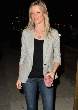 Amy Smart Leaves The Opening of Au Fudge in West Hollywood
