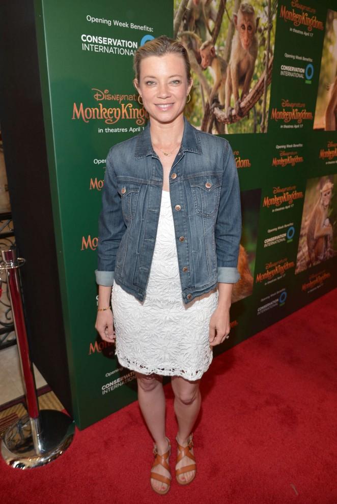 """Amy Smart - """"Monkey Kingdom"""" Premiere in LA"""