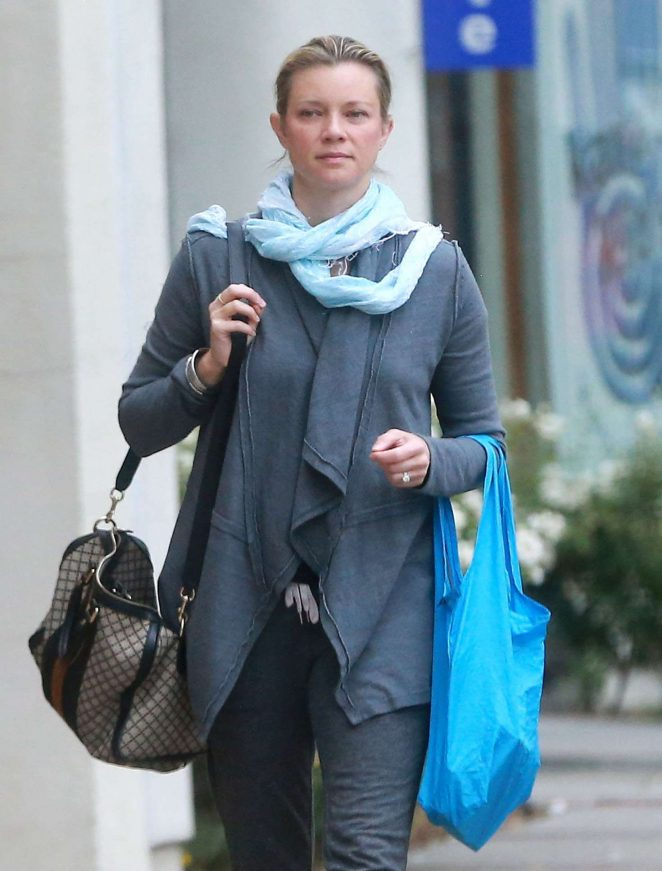 Amy Smart out shopping in Studio City