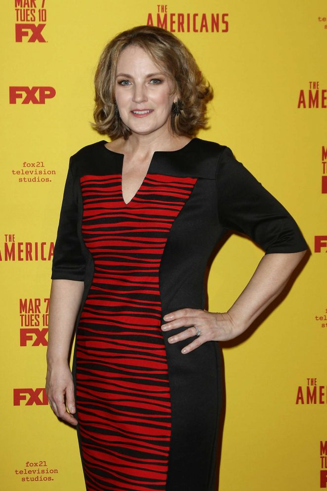 Amy Tribbey - 'The Americans' Season 5 Premiere in New York City