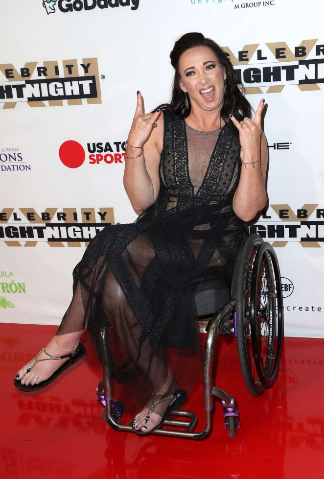 Amy Van Dyken - Muhammad Ali's Celebrity Fight Night in Arizona