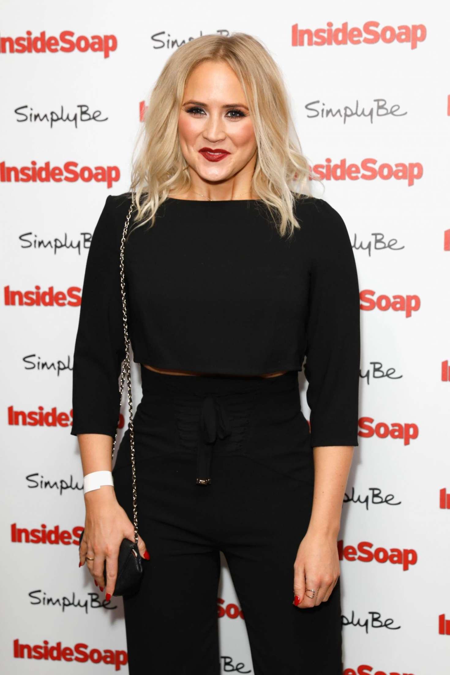 Amy Walsh - 2017 Inside Soap Awards in London