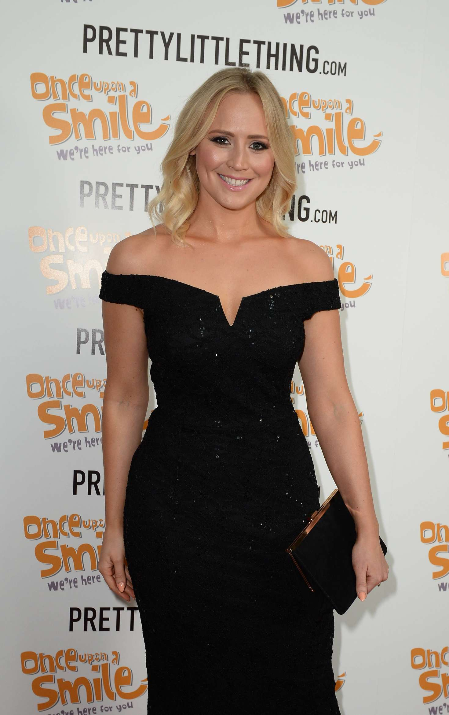 Amy Walsh - Once Upon A Smile Grand Ball 2017 in Manchester