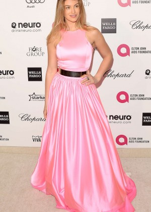 Amy Willerton - Oscars 2015 - Elton John AIDS Foundation Academy Awards Party