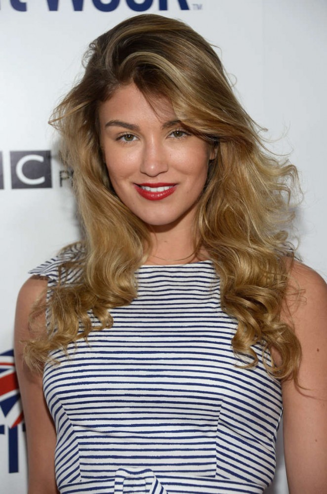 Amy Willerton - 2015 BritWeek Launch Party in LA