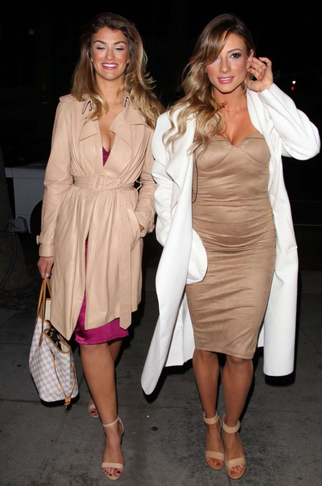 Amy Willerton and Paige Hathaway - Caulfield's Bar in Beverly Hills