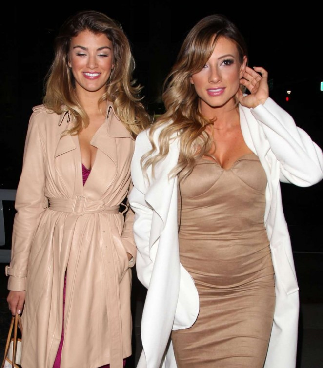 Amy Willerton and Paige Hathaway: Caulfields Bar in Beverly Hills -07