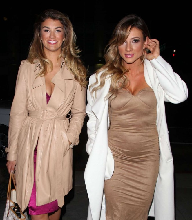Amy Willerton and Paige Hathaway: Caulfields Bar in Beverly Hills -15